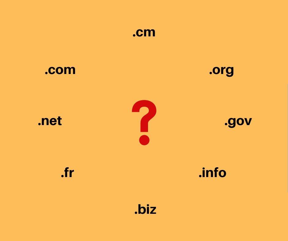 Comment choisir l'extension convenable pour votre nom de domaine ?